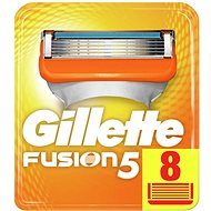 Pánske náhradné hlavice GILLETTE Fusion Manual 8 ks - Pánské náhradní hlavice