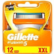 GILLETTE Fusion 12 ks - Pánske náhradné hlavice