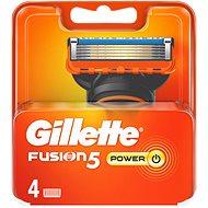 GILLETTE Fusion Power náhradné hlavice 4 ks - Pánske náhradné hlavice