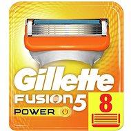Pánske náhradné hlavice GILLETTE Fusion Power 8 ks - Pánské náhradní hlavice