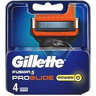 Pánske náhradné hlavice GILLETTE  Fusion ProGlide Power 4 ks - Pánské náhradní hlavice