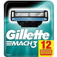 Pánske náhradné hlavice GILLETTE Mach3 12 ks - Pánské náhradní hlavice