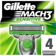 GILLETTE Mach3 Sensitive - Pánske náhradné hlavice