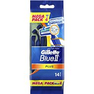 GILLETTE Blue II Plus 10 + 4 ks - Holiace strojčeky