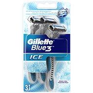 GILLETTE Blue3 Ice 3 ks - Holiace strojčeky