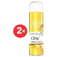 GILLETTE Satin Care gel Vanilla Dream 2× 200 ml - Dámsky gél na holenie