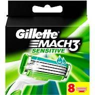 GILLETTE Mach3 Sensitive 8 ks - Pánske náhradné hlavice