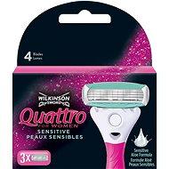 WILKINSON Quattro for Women 3 ks - Dámske náhradné hlavice