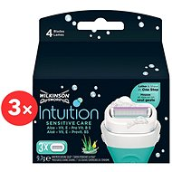 WILKINSON Intuition Sensitive Care 3× 3 ks