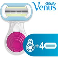 GILLETTE Venus Snap strojček + hlavice 3 ks - Dámsky holiaci strojček