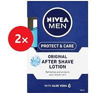 NIVEA Men Protect&Care 2× 2 v 1 100 ml - Voda po holení