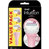 WILKINSON Intuition strojček + 3 rôzne druhy náhradných hlavíc BOX - Darčeková kozmetická súprava