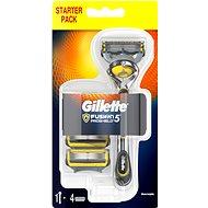 GILLETTE Fusion Proshield strojček + hlavice 4 ks - Holiaci strojček