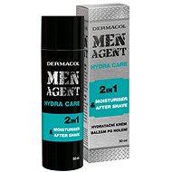 DERMACOL Men Agent Moisturizing Gel-Cream and Aftershave Balm 50 ml