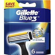 GILLETTE Blue3 6 ks - Pánske náhradné hlavice