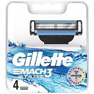 GILLETTE Mach3 Start 4 ks - Pánske náhradné hlavice