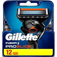 Pánske náhradné hlavice GILLETTE Fusion ProGlide 12 ks - Pánské náhradní hlavice