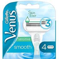 GILLETTE Venus Smooth Sensitive 4 ks - Dámske náhradné hlavice