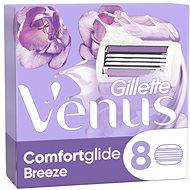 GILLETTE Venus ComfortGlide Breeze 8 ks - Dámske náhradné hlavice