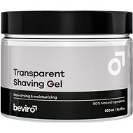 Gél na holenie BEVIRO Transparent Shaving Gel 500 ml - Gel na holení