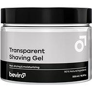 BEVIRO Transparent Shaving Gel 500 ml - Gél na holenie