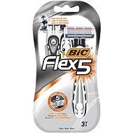 BIC Flex5 3 ks - Jednorazové holiace strojčeky