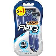 BIC Flex3 4 ks - Jednorazové holiace strojčeky