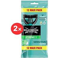 WILKINSON Xtreme3 Sensitive Pure 2 × 12 pcs - Razors