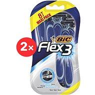 BIC Flex3 2 × 8 pcs - Razors