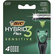 BIC Flex3 Sensitive 4 ks - Pánske náhradné hlavice