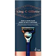 KING C. GILLETTE Shave & Edging + hlavica 1 ks - Holiaci strojček