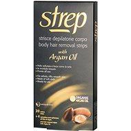 Depilačné prúžky STREP Arganový olej Voskové prúžky na telo 20 ks - Depilační pásky