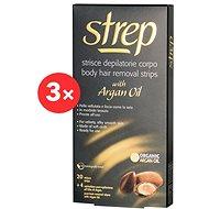 STREP Argan Oil Body Wax Strips 3 × 20 pcs