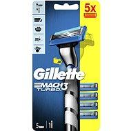 GILLETTE Mach3 Turbo + Head 5 pcs - Razor