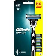 GILLETTE Mach3 + Head 5 pcs - Razor