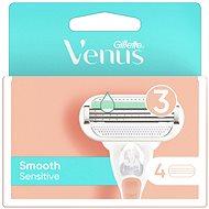 GILLETTE Venus Sensitive Smooth 4 pcs - Women's Replacement Shaving Heads