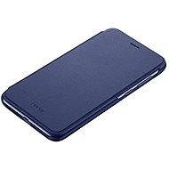 Honor 9 Lite PU Flip cover Blue - Puzdro na mobil