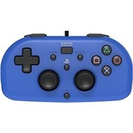 HORI Wired Mini Gamepad modrý - PS4 - Ovládač