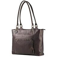 "HP Ladies Leather Tote Brown 15.6"" - Taška na notebook"