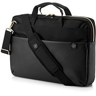 "HP Pavilion Accent Briefcase Black/Gold 15,6"" - Taška na notebook"