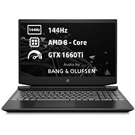HP Pavilion Gaming 15-ec1006nc Shadow Black White - Gaming Laptop