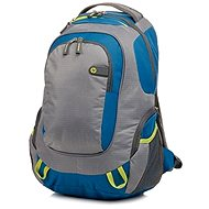 HP Outdoor Sport Backpack Blue / Green 15.6 ""
