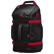 "HP Odyssey Backpack Black/Red 15.6"" - Batoh na notebook"