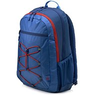 "HP Active Backpack Marine Blue/Coral Red 15,6"" - Batoh na notebook"