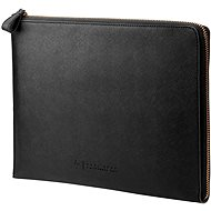 "HP Spectre Black Leather Sleeve (Zipper) 13.3"" - Puzdro na notebook"