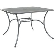 Happy Green Stôl oceľový štvorcový MAINE - Záhradný stôl