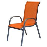 Happy Green Stolička záhradná, oranžová - Záhradná stolička