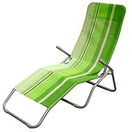 Happy Green Plážové ležadlo zelený pruh - Plážové ležadlo