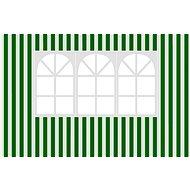 Vetro-Plus Bočnice k záhradnému altánu s oknom, pruhy - Bočnice k záhradnému stanu