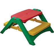 Skladací stolík s lavičkami - Detský nábytok